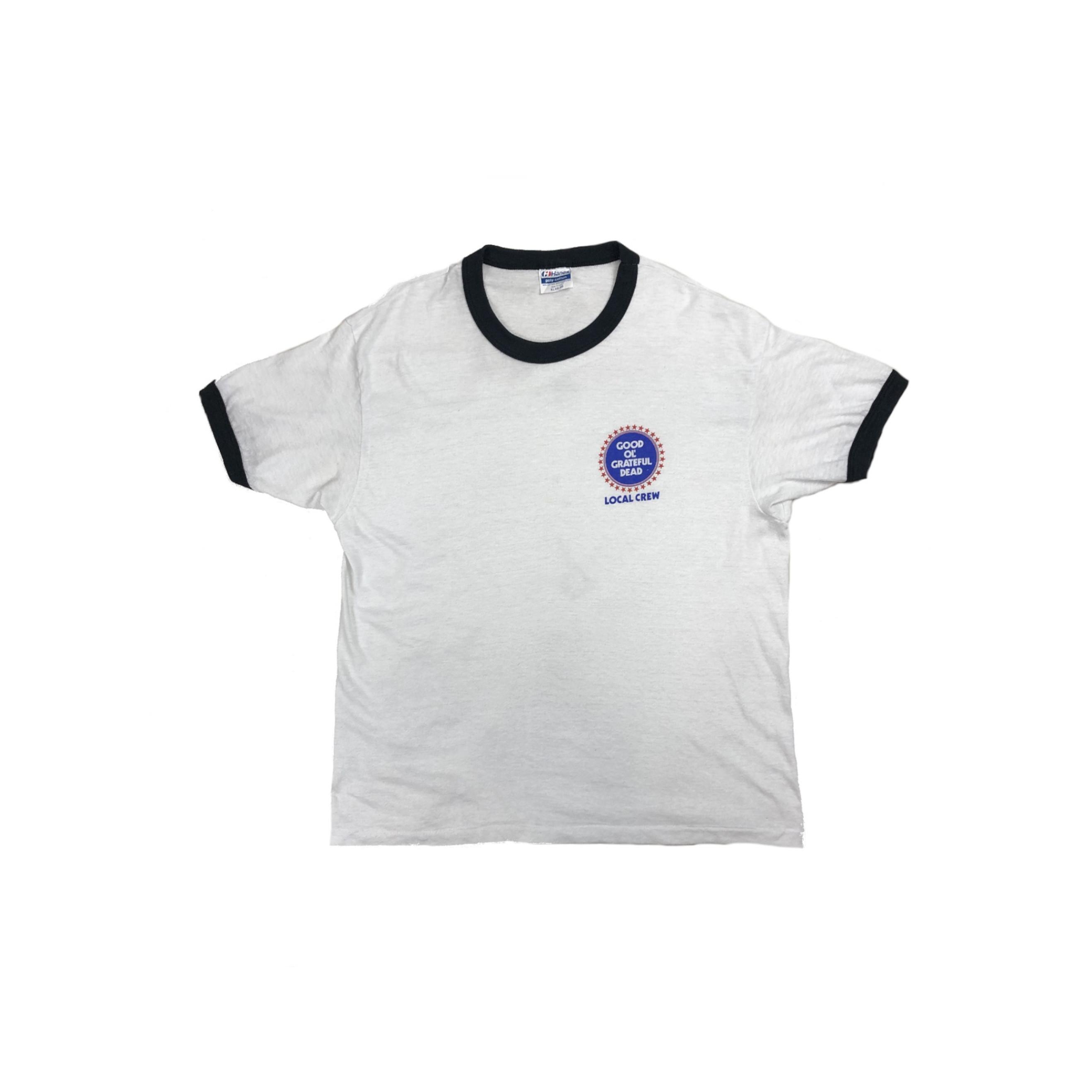 80's GRATEFUL DEAD / LOCAL CREW リンガー TEE Tシャツ専門のビンテージショップ